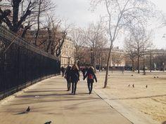 Paris, near Arc de Triomphe
