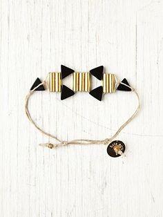 bracelet géometrique