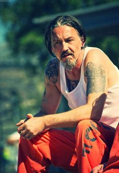 Hot Damn. So glad I'm not the only one who thinks Chibs is hot. He's my sexy…
