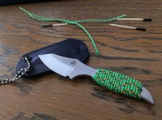 Nemesis Hellion neck knife