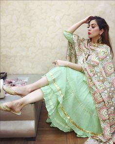 45 beautiful summer wedding outfits ideas for guests Pakistani Dresses, Indian Dresses, Indian Outfits, Punjabi Dress, Punjabi Suits, Punjabi Fashion, Indian Fashion, Stylish Dresses, Fashion Dresses