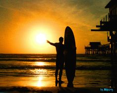 Surfing Photography...Surf Art surfer at Cocoa Beach by WGilroy, $5.00
