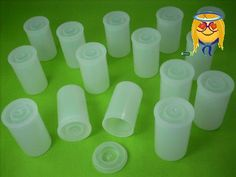 #greatdeal White #film canisters with tight sealing lids; perfect for film canister rockets, geocaching containers, first aid kits, and for storage of small part...