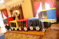 Circus/Carnival Birthday Party Ideas | Photo 9 of 77 | Catch My Party