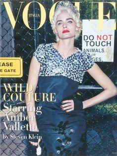 Amber Valletta, photo by Steven Klein, Vogue Italia, March 2009 *