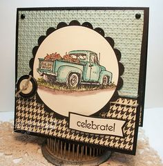like this -- have this set for a good masculine card for my hubby