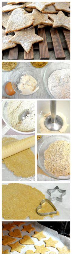 Postres Saludables   Galletas integrales, sustituyendo la mantequilla por frijoles   http://www.postressaludables.com
