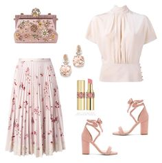 """""""Untitled #514"""" by ivanazb ❤ liked on Polyvore featuring RED Valentino, Raye, Dolce&Gabbana, BillyTheTree and Yves Saint Laurent"""