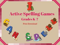Spelling games allow students to have fun with words. They are also a great way to fill in a few extra minutes before lunch or while you are waiting in the hallway. All of the games below will get your students up and moving. They are played as a whole class or in teams so no child is singled out.  Summary: Students will play various spelling games to help them practice their spelling words.  Objective: To get students up and moving while reviewing their spelling words.  Target Age: These…