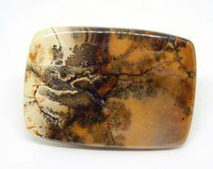 53 x 38 mm Agata dendritica. Agate gemstone cabochon di HELGASHOP su Etsy