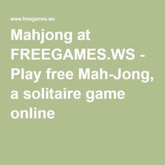 mahjong at free games ws play free