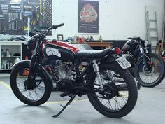 GARAGE CUSTOM MOTORCYCLES: FLAT TRACKER