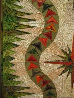 The quilting on this one is out of this world.
