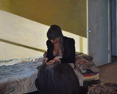 "Saatchi Art Artist Thu Nguyen; Painting, ""Mending (special sale)"" #art"