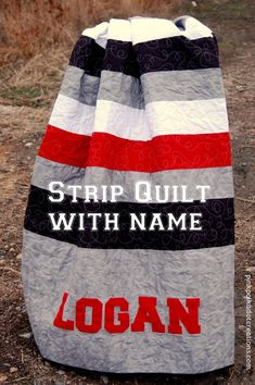strip quilt with nam