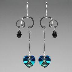 Kuiper Belt II v11 Modern industrial earrings by YouniquelyChic  ---- matching earrings to last post