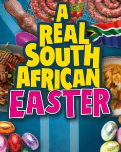 A REAL SOUTH AFRICAN EASTER Ribbed Crochet, Red Friday, Easter, African, Big, Easter Activities