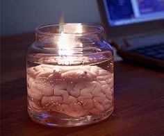 After years of going on sky high journeys and suffering countless hangovers, it turns out there's an easier albeit probably not as entertaining way of burning brain cells. The brain candle makes an excellent light source that will help your room or mad-science laboratory achieve the eerie ambiance it's been missing this whole time. You…
