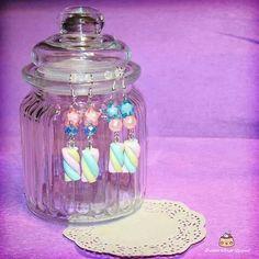 Marshmellow earrings