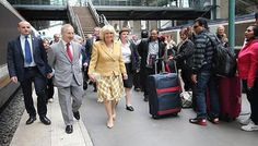 Camilla in landmark solo visit to France