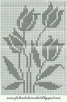 speaking of crochet carpet of Filet Crochet Charts, Crochet Motifs, Crochet Borders, Knitting Charts, Crochet Stitch, Crochet Patterns, Free Crochet, Crochet Curtain Pattern, Crochet Curtains