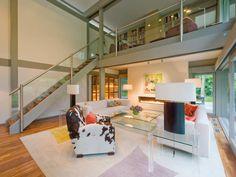 Wohnbereich im ART Sonder von HUF Haus • Mit Musterhaus.net Traumhaus finden und Wohnbereiche zum Wohlfühlen gestalten.