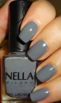 Wendy's Delights: Nella Milano Nail Lacquer - Mercury Haze 20% off all lacquers, use 'wendyspecial' at checkout @Nella_Milano