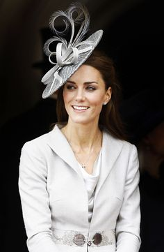 Kate Middleton Fascinators and Hats  #Celebrity #Fascinator #Middleton