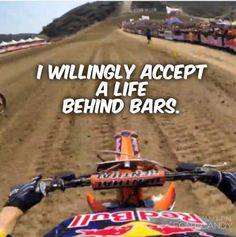 😂🤙✌️ DM or tag to be featured! Check out link in bio for tshirt designs! Dirtbike Memes, Motocross Quotes, Dirt Bike Quotes, Racing Quotes, Biker Quotes, Motocross Funny, Motorcycle Humor, Girl Motorcycle, Triumph Motorcycles