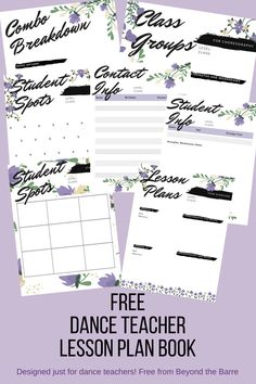 28 Ideas Jazz Dancing Lesson Plans For 2019 Teach Dance, Learn To Dance, Dance Teacher, Dance Class, Ballet Class, Ballet Barre, Teacher Lesson Planner, Dance Lessons, Dance Tips