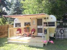 "I would love to have this as a ""guest camper"" in my backyard!"