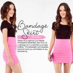 Bandage skirts slim any girl's figure. One size fits most. #repeatpo several colors to choose from #skirts #fashionista #fridaynightout
