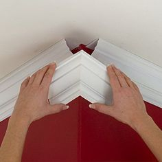 Easy Crown Molding Peel and Stick Crown Molding, - Diy Interior Design