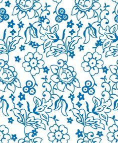 Flowers decorative pattern background vector