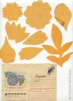 flower petal templates