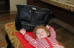 Amy Michelle Iris in Black  Work/School/Travel/Diaper bag