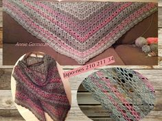 Japo-nes 210 211 34 Triangle Shawl by AnnieG2