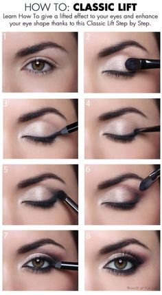 The 11 Best Eye Makeup Tips and Tricks | How to: Classic Lift