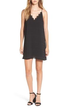 BP. BP. Lace Trim Slipdress available at #Nordstrom