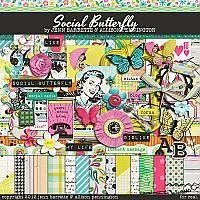 cute, cute, CUTE!  Social Butterfly by Allison Pennington