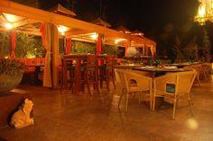 Ginger Garden Lounge Terrace
