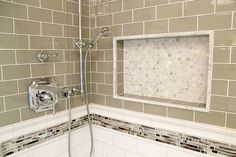 How to design and build a shower niche by Ramcom Kitchen and Bath Contractor
