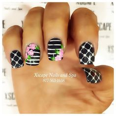 Instagram photo by @ xscapenails  #nail #nails #nailart