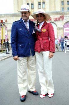 Russia's 2012 opening ceremony uniforms are very safari chic!