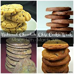 It's National Chocolate Chip Cookie week. Here are four recipes to help you celebrate.