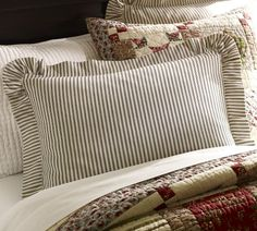 For my bedroom - love these pillow shams