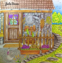 Romantic country The second tale Colored by Julie Bouve