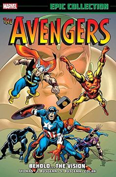Avengers - Epic Collection - Behold the Vision   @ComicMangaEnt