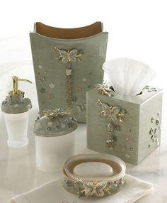 Papillion Bathroom Vanity Accessories