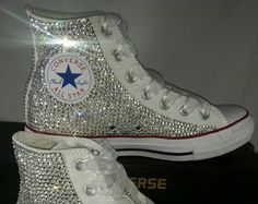 25a30482096 Looking for the cutest custom converse  Look no further! These beauties are  perfect for